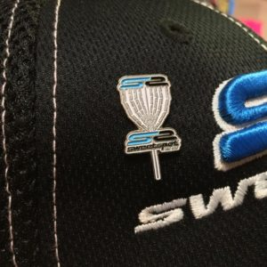 Sweet Spot Disc Golf Logo Chains Hat / Bag Pins High Quality Enamel