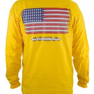 Innova Discs Long Sleeve FLAG Disc Cotton Shirt