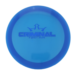 Dynamic Discs First Run Criminal Lucid Distance Driver 5139750