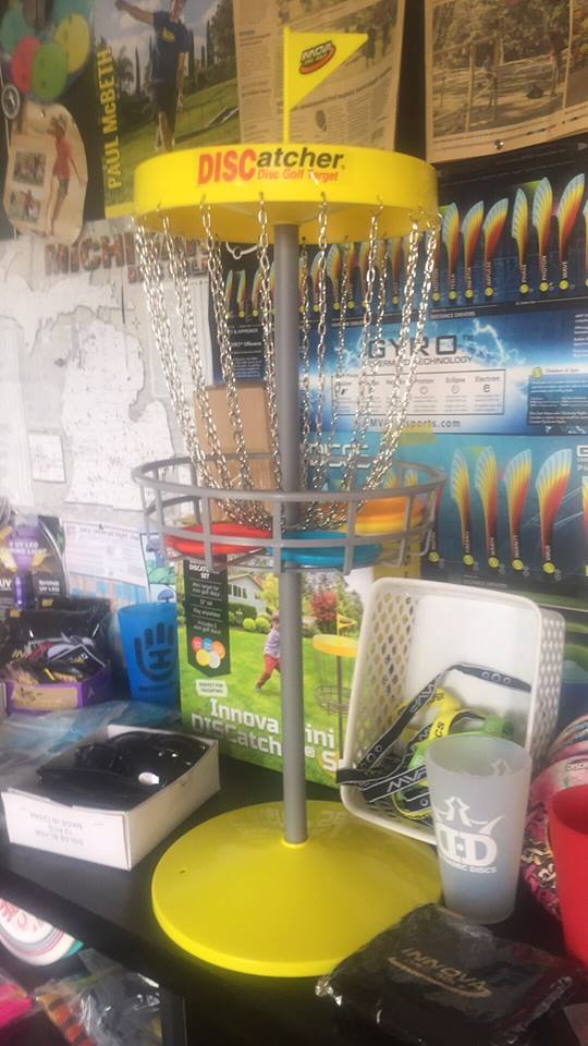 "Innova DISCatcher Mini Disc Golf Game Set 32"" Tall"