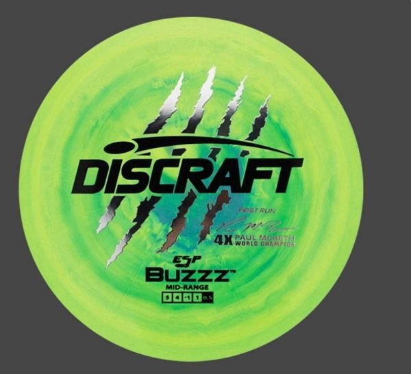 0eab557a6bb Discraft First Run ESP Buzzz Paul Mcbeth Signature Series