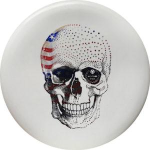 Westside BT medium happy skull shield