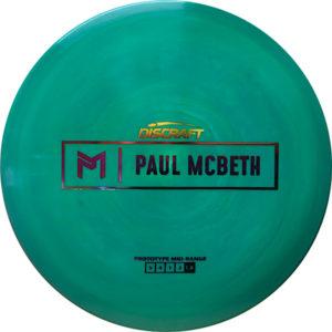 Discraft Paul McBeth ESP Prototype Midrange