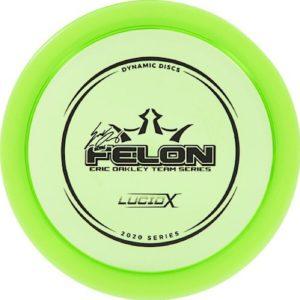 Dynamic Discs Lucid - X Felon Eric Oakley 2020 Team Series