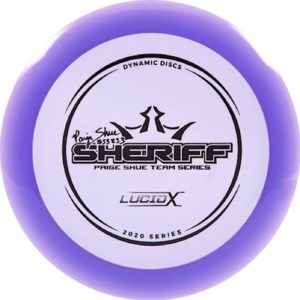 Dynamic Discs Lucid - X Sheriff Paige Shue 2020 Team Series