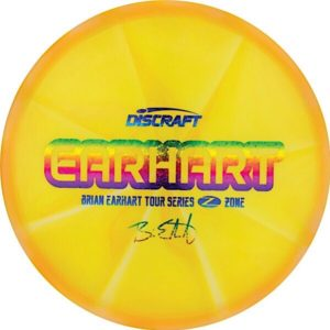 Discraft Tour Series BRIAN EARHART Z Swirl Zone Sweet Spot Disc Golf