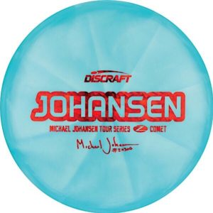 Discraft Tour Series Michael Johansen Comet Sweet Spot Disc Golf