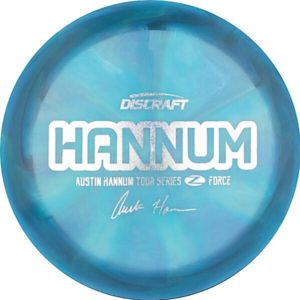Discraft Tour Series Austin Hannum Z Swirl Force Sweet Spot Disc Golf