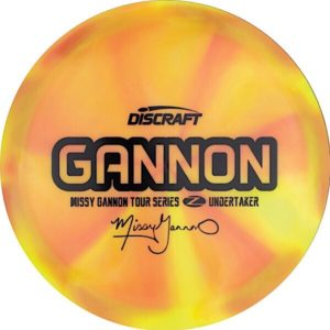 Discraft Tour Series Missy Gannon Z Swirl Undertaker Sweet Spot Disc Golf