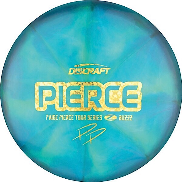 Discraft Tour Series Paige Pierce Swirl Z Buzzz Sweet Spot Disc Golf