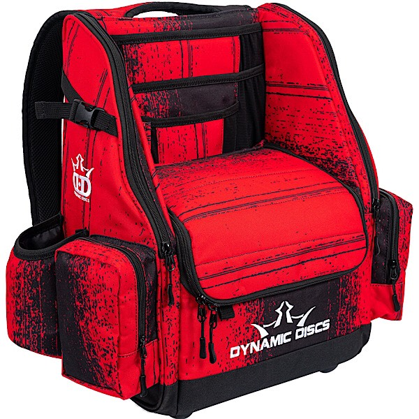 Dynamic Discs Commander Backpack Disc Golf Bag Atomic Red