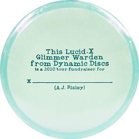 Dynamic Discs Lucid-X Glimmer Warden A.J. Risley 2020