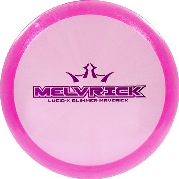 Dynamic Discs Lucid-X Glimmer Maverick Zach Melton 2020