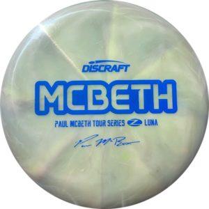 Discraft Tour Series Paul McBeth Z Swirl Luna Putter