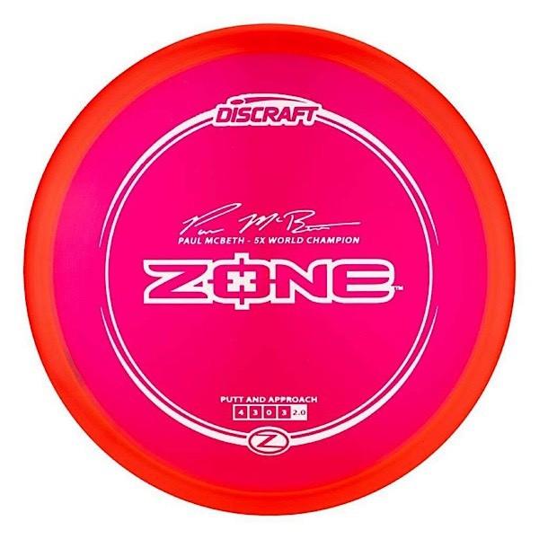 Discraft Paul McBeth 5x Z Zone (Stock Photo)