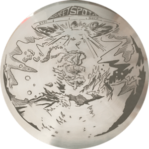 Sweet Spot Metal Disc Golf Mini