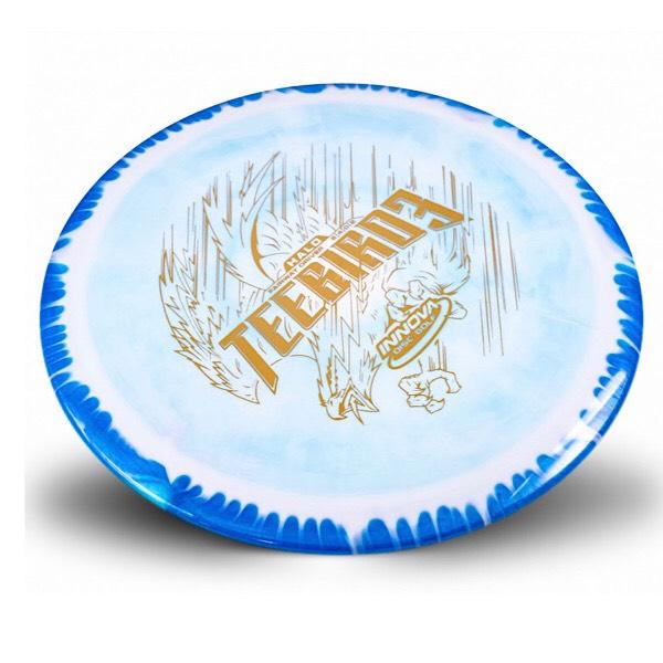 Innova Blue Halo Teebird3 sweet spot disc golf
