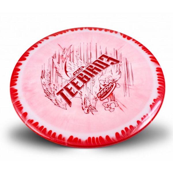 Innova Halo Teebird3 Red sweet spot disc golf
