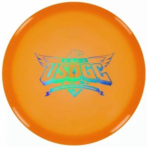 The Roc+ features our Plus Mold rim which allows for a smooth release when throwing the disc. The Roc+ flies very straight and stable at high speeds and has less low speed overstability than other Rocs. It slots between an Ontario and a Rancho.