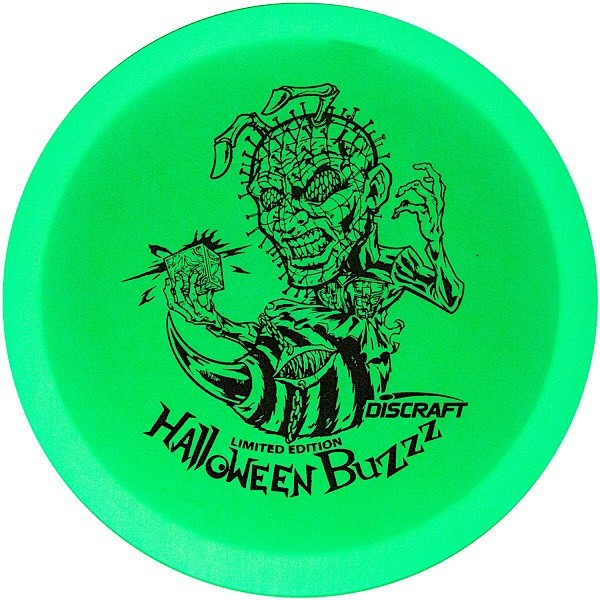 Discraft 2020 Halloween Hellraizzzer Hot Stamp Glo Buzzz