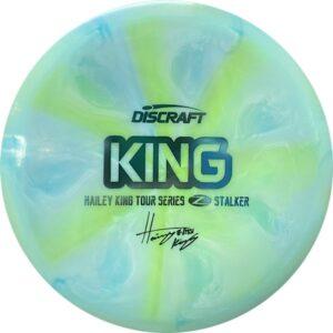 Discraft Tour Series Haley King Stalker aqua swirl