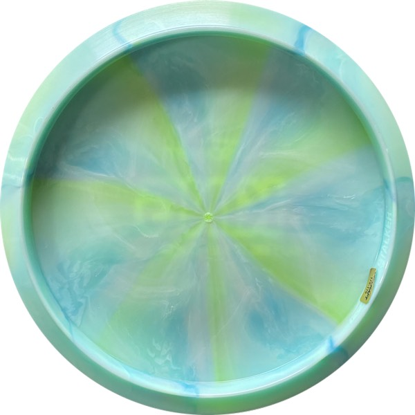 Discraft Tour Series Haley King Stalker aqua swirl back
