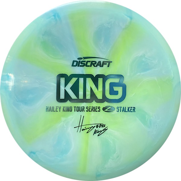 Discraft Tour Series Haley King Stalker aqua swirl