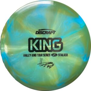 Discraft Tour Series Haley King Stalker green and blue front