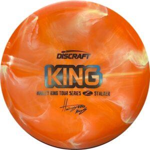 Discraft Tour Series Haley King Stalker orange swirl front