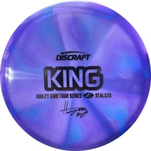 Discraft Tour Series Haley King Stalker purple front