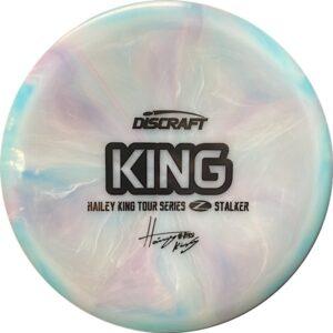 Discraft Tour Series Haley King Stalker swirls front