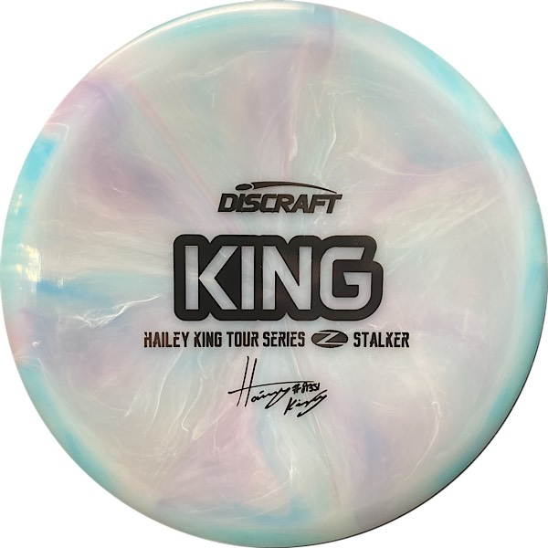 Discraft Tour Series Haley King Stalker swirls front