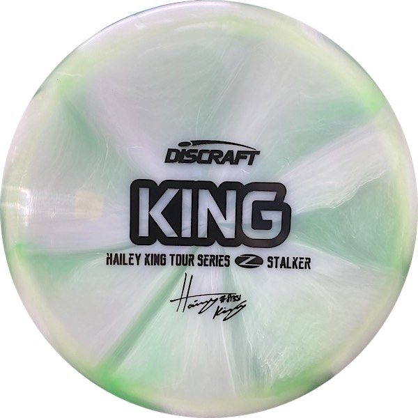 Discraft Tour Series Haley King Stalker whitish swirl