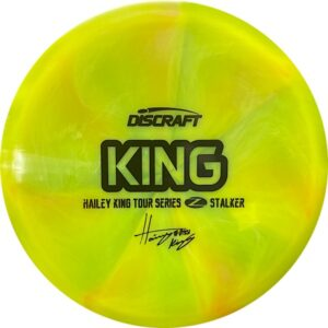 Discraft Tour Series Haley King Stalker yellow front