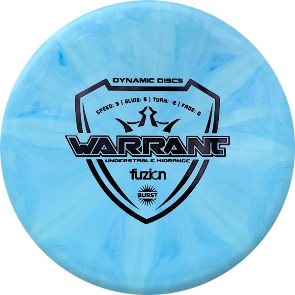 Dynamic Discs Fuzion Warrant