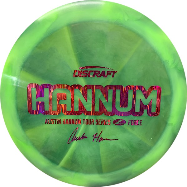 Discraft Tour Series Austin Hannum Z Swirl Force