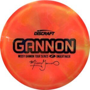 Discraft Tour Series Missy Gannon Z Swirl Undertaker