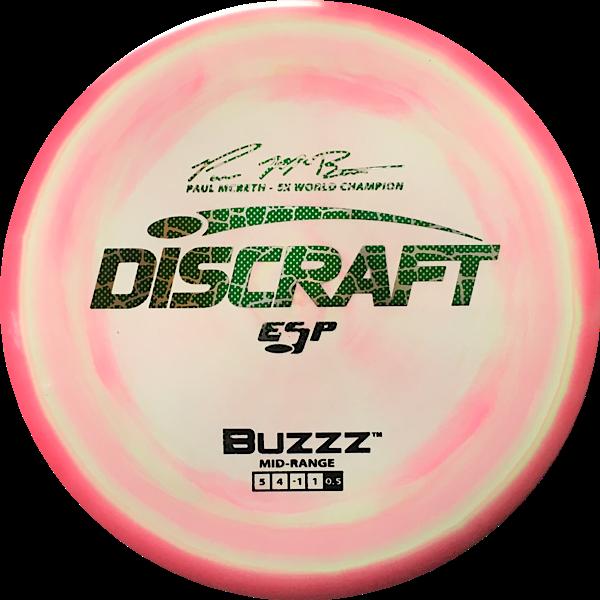 Discraft Paul McBeth ESP Swirly Buzzz