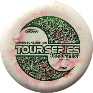Discraft Ledgestone 2021 Tour Series Jawbreaker Rattler