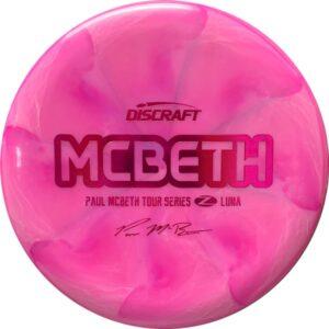 Discraft Paul McBeth Z Swirl Tour Series Luna