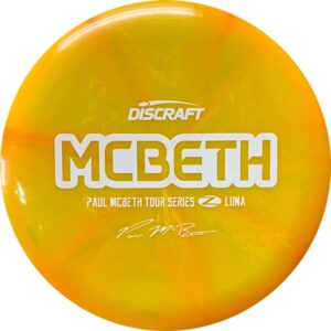Discraft Z Burst Paul McBeth Tour Series Luna