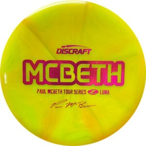 Discraft Z Burst Paul McBeth Tour Series Luna