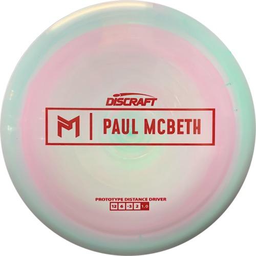 Discraft ESP Prototype Hades Paul McBeth