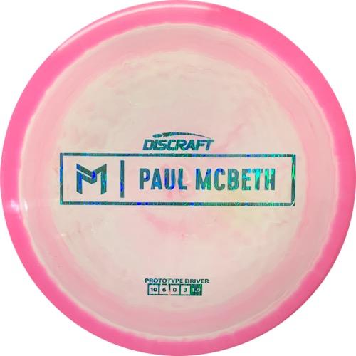 Discraft PROTOTYPE ANAX Paul McBeth