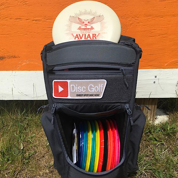 Sweet Spot Disc Golf Velcro Patch