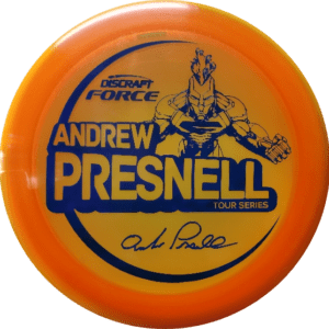 Discraft Force 2021 Tour Series Presnell