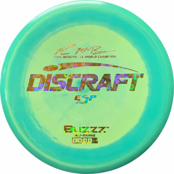 Discraft Paul McBeth 5X ESP Buzzz