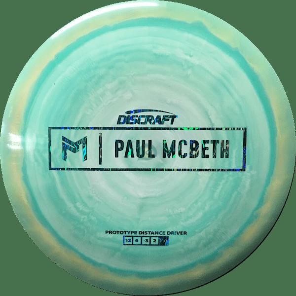 Discraft ESP Hades Paul McBeth Prototype